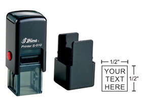 Indiana Stamp carried the full line of Shiny brand stamps, including the S-510 self-inking stamp.