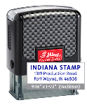 Indiana Stamp sells a complete line of Shiny brand stamp products, including the Shiny 852 self-inking rubber hand stamps at competitive prices.